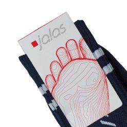 Udobne pamučne čarape, perive na 40°C, prozračne BOJA: plava