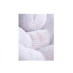 Bijele pamučne rukavice 15g/m2. Mekane i udobne, za korištenje u toplim i suhim uvjetima.