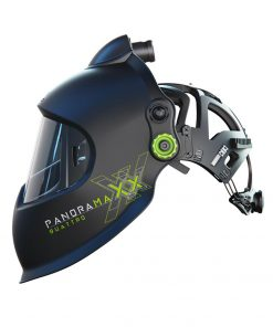 Automatska maska za zavarivanje Optrel Panoramaxx Quattro PAPR Black