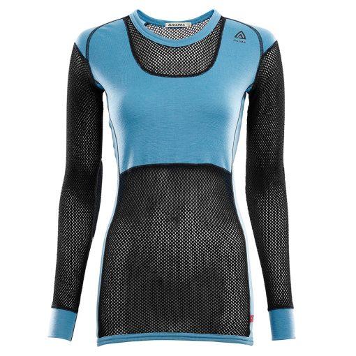 101628-246 Aclima WoolNet Original ženska majica dugih rukava Crew Neck front