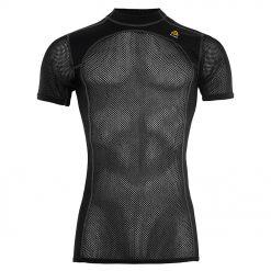 101637-123 Aclima WoolNet T-shirt majica sa kratkim rukavima black front