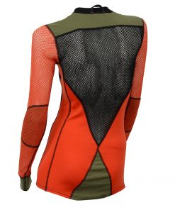 102730-142 Aclima WoolNet Hybrid ženska majica dugih rukava Crew Neck back