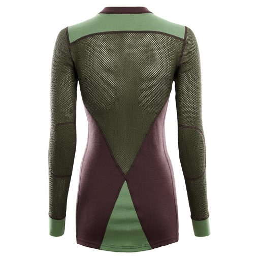 102730-248 Aclima WoolNet Hybrid ženska majica dugih rukava Crew Neck back