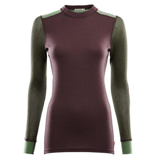 102730-248 Aclima WoolNet Hybrid ženska majica dugih rukava Crew Neck front