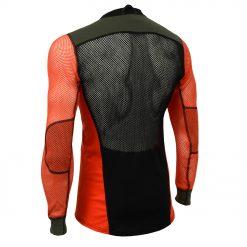 102737-143 Aclima WoolNet Hybrid muška majica dugih rukava Crew Neck back