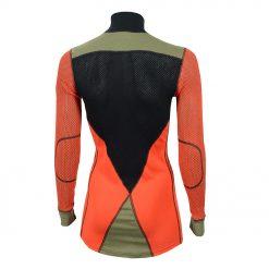 103278-142 Aclima WoolNet Hybrid ženska majica dugih rukava sa zipom Mock Neck back