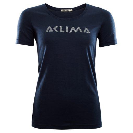 102515-232 Aclima LightWool T-shirt logo woman