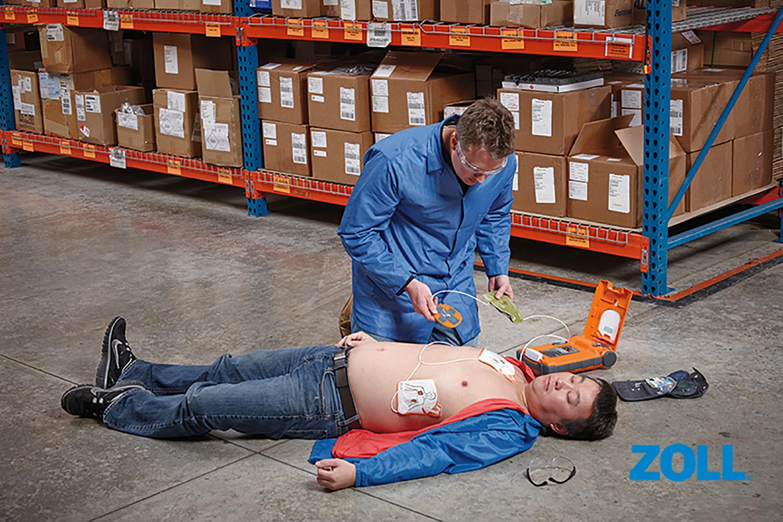 AVD (automatski vanjski defibrilator) G5 Zoll - Cardiac Science live foto