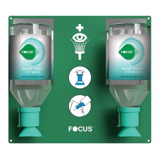 otopina za ispiranje očiju FOCUS 500 ml u boci dual s nosačem
