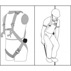 Kratos trauma trake za rad na visini Unimex