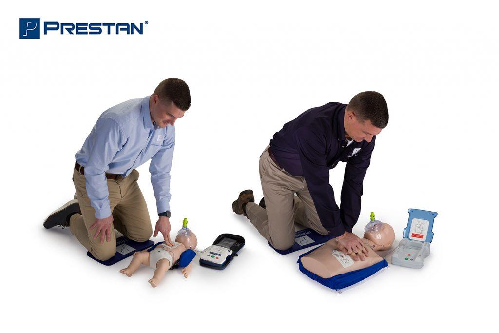 Prestan lutke za reanimaciju uz korištenje autmatskog vanjskog defibrilatora