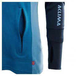 104078-263 Aclima WarmWool ženska hoodie dugih rukava sa zipom rukav