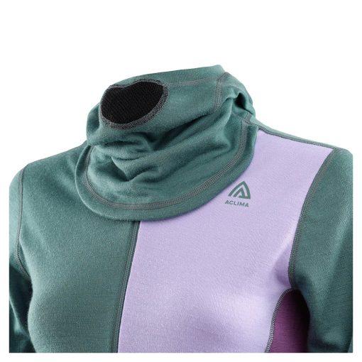 104078-300 Aclima WarmWool ženska hoodie dugih rukava sa zipom kapuljača 1