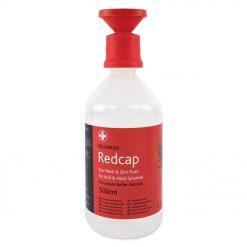 Reliwash Redcap 500 ml fosfatna puferirana otopina za ispiranje očiju s aplikatorom