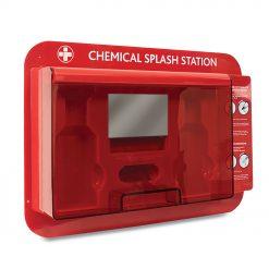 Redcap Chemical stanica za ispiranje očiju bez punjenja otvorena
